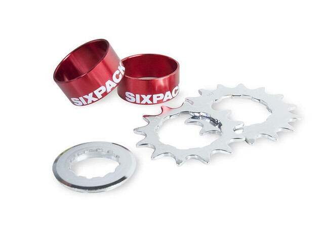Sixpack Single Speed Kit red